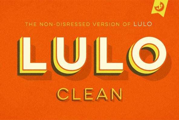 Lulo Clean Font | Starting from $3.67